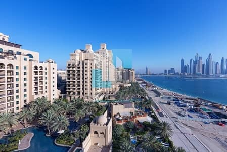 3 Bedroom Apartment for Sale in Palm Jumeirah, Dubai - Top Floor Apartment with Sea & Marina View