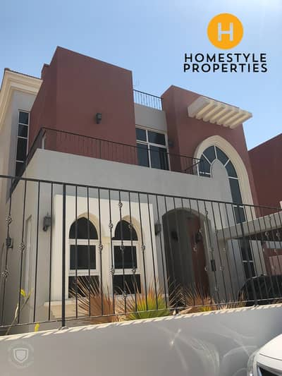 5 Bedroom Villa for Rent in Khalifa City A, Abu Dhabi - IMMACULATE 5 BEDROOM VILLA W/ GARDEN AND MAIDS ROOM