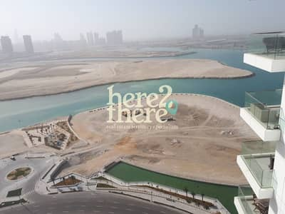 2 Bedroom Flat for Rent in Al Reem Island, Abu Dhabi - Large Balcony with seaview 2br in Amaya Tower