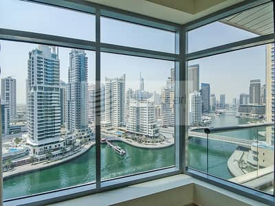 2 Bedroom Apartment for Rent in Dubai Marina, Dubai - Well Furnished 2BR with Full Marina View