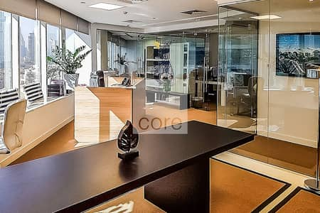 Office for Sale in Business Bay, Dubai - Fitted with Partitions | Corner Office