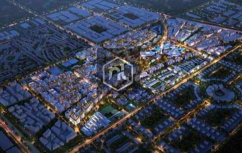 Studio for Sale in Aljada, Sharjah - The cheapest price in the new Downtown of Sharjah
