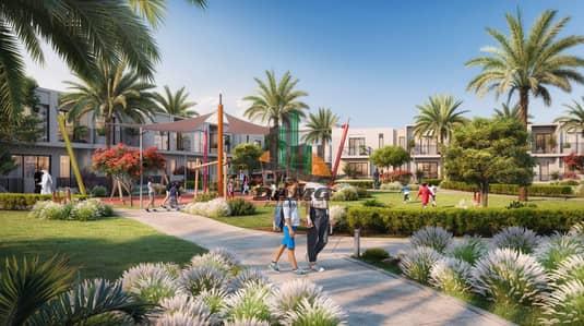 تاون هاوس 3 غرفة نوم للبيع في دبي الجنوب، دبي - Amazing Villa with down payment 50k only