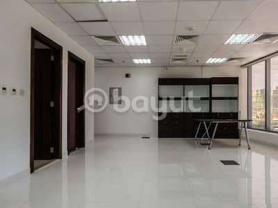 Office for Rent in Jumeirah Lake Towers (JLT), Dubai - 600 Sq ft OFFICE | LOW Floor | Ready to move-in