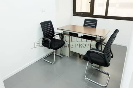 Office for Rent in Corniche Area, Abu Dhabi - Brand New Semi Fitted Office with City View in Corniche Area