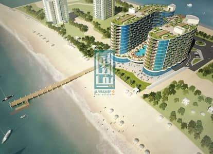 Hotel Apartment for Sale in Al Marjan Island, Ras Al Khaimah - PAY 63K DOWN PAYMENT + 10% ROI FOR 5 YEARS