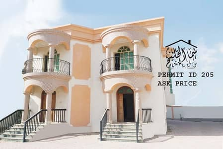 5 Bedroom Villa for Sale in Al Zahraa, Ajman - villa for sale in ajman with electricity and water and  air condition