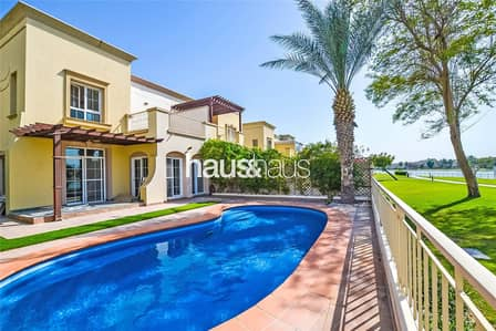 3 Bedroom Villa for Rent in The Springs, Dubai - Type 1E | Upgraded | Lake View | Private Pool