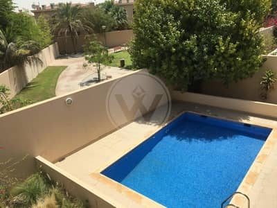5 Bedroom Villa for Rent in Al Raha Golf Gardens, Abu Dhabi - Fantastic Villa with private pool in Golf Gardens