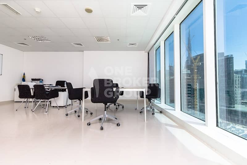 New Fully Fitted Office in Almas Tower