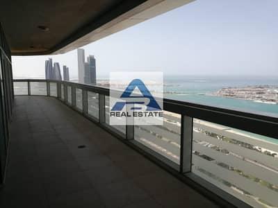 3 Bedroom Apartment for Rent in Al Khalidiyah, Abu Dhabi - Spacious 3 Master Room Balcony Sea View Pool Gym Parking