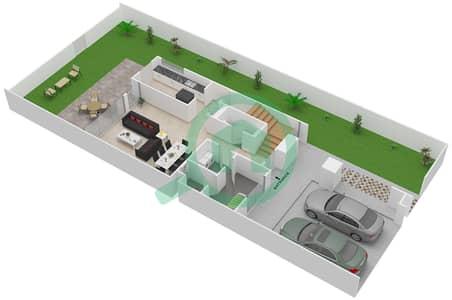Arabella Townhouses Floor Plans Mudon Bayut Dubai