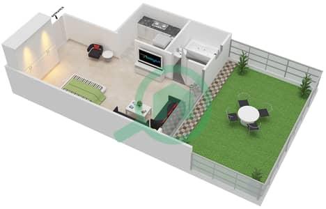 Point Residencia - Studio Apartment Unit 7 Floor plan