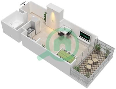 المخططات الطابقية لتصميم الوحدة 2 FLOOR 6-9,24-28 شقة  - برج 108