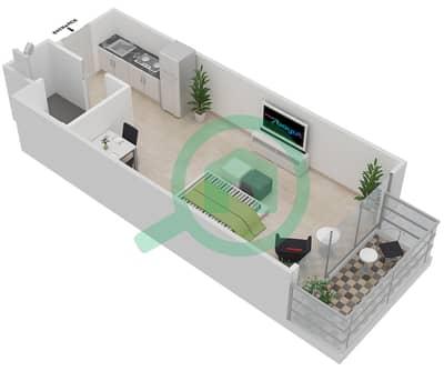 المخططات الطابقية لتصميم النموذج 2 شقة  - ميلانو جيوفاني بوتيك سوتس
