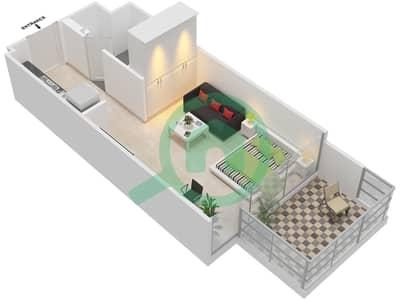 المخططات الطابقية لتصميم النموذج / الوحدة 1B/04 شقة  - شايستا عزيزي