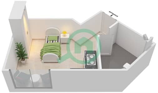 المخططات الطابقية لتصميم النموذج SA-T شقة  - الریف داون تاون