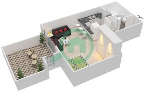 المخططات الطابقية لتصميم التصميم 53 شقة  - تانارو