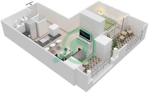 المخططات الطابقية لتصميم التصميم 51 شقة  - تانارو