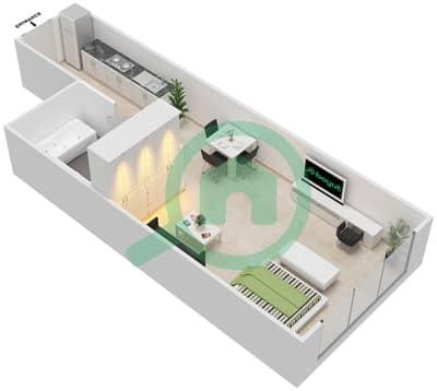 المخططات الطابقية لتصميم النموذج 22 شقة  - غالية كونستيلا