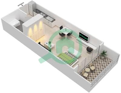 المخططات الطابقية لتصميم النموذج 17 شقة  - غالية كونستيلا