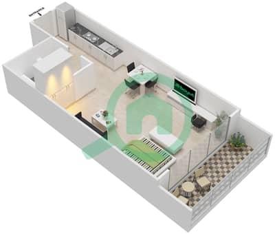 المخططات الطابقية لتصميم النموذج 16 شقة  - غالية كونستيلا