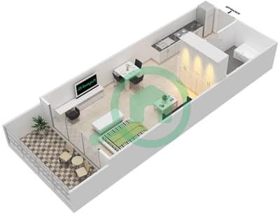 المخططات الطابقية لتصميم النموذج 2 شقة  - غالية كونستيلا