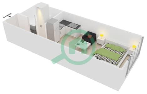 المخططات الطابقية لتصميم النموذج C10 شقة  - ميدان هانوفر