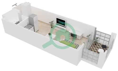 المخططات الطابقية لتصميم النموذج C5 شقة  - ميدان هانوفر