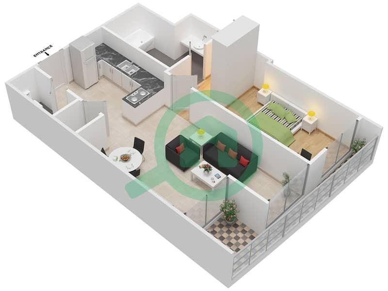 plan de maison type 5