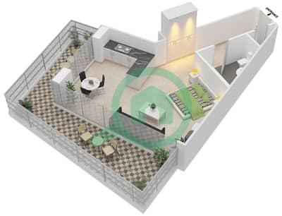 المخططات الطابقية لتصميم النموذج 13 شقة  - ذا ميتركس