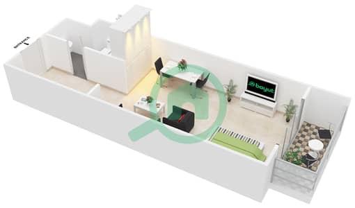 المخططات الطابقية لتصميم التصميم B شقة  - جوفاني بوتيك سويتس