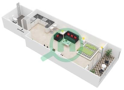 Giovanni Boutique Suites - Studio Apartment Suite A Floor plan