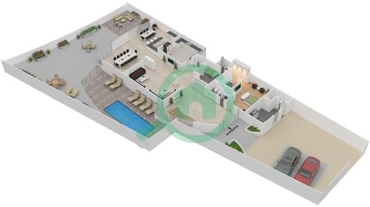 The Jewels - 4 Bedroom Villa Type RUBY Floor plan