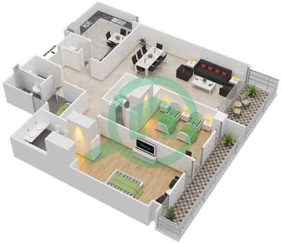 Al Badia Residences Floor Plans Dubai Festival City Bayut Dubai