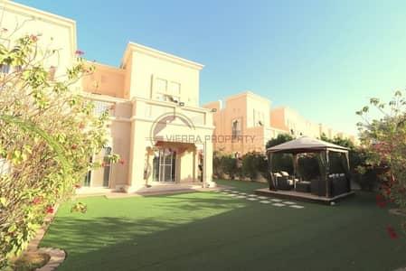 3 Bedroom Villa for Sale in Dubai Silicon Oasis, Dubai - Huge Plot I Upgraded I Single Row I Traditional