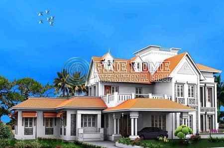 6 Bedroom Villa for Sale in Al Raha Beach, Abu Dhabi - Magnificent Villa in Al Rahba