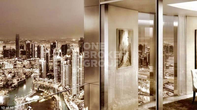 10 Last High Floor Penthouse | Iconic Address | Downtown