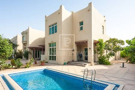 5 Bedroom Villa for Sale in Jumeirah Islands, Dubai - Luxurious Villa|Full Lake View| Swimming pool