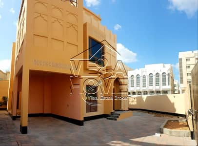 4 Bedroom Villa for Rent in Al Nahyan, Abu Dhabi - STAND-ALONE 4 MASTER BED W/KITCHEN OUTSIDE