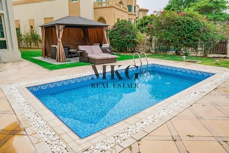 فیلا 4 غرفة نوم للبيع في جزر جميرا، دبي - 4BDR + Maid's Villa   Full Lake View