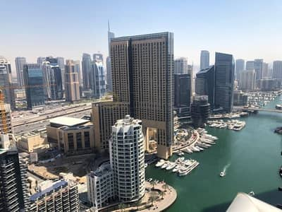 3 Bedroom Apartment for Rent in Dubai Marina, Dubai - Bright and Spacious|Marina and Sea View|Chiller Free