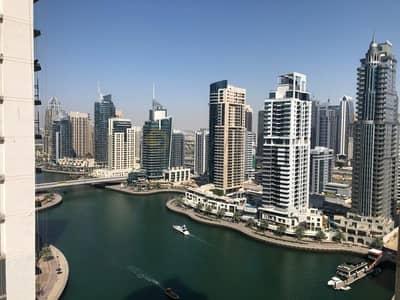 2 Bedroom Flat for Rent in Dubai Marina, Dubai - Beautiful Marina View|Brand New|Chiller Free