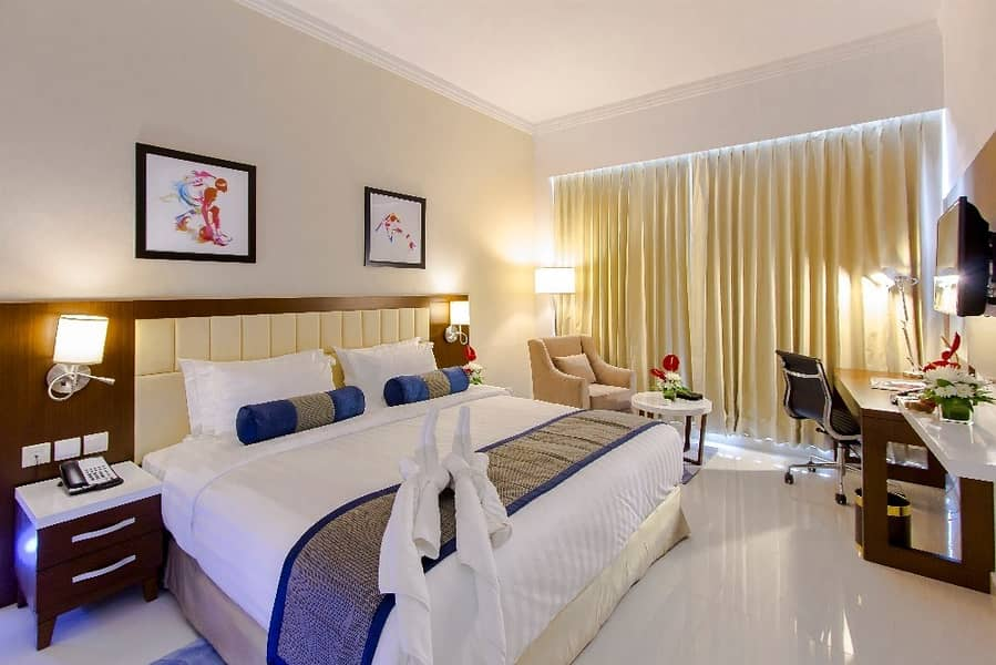 *One Bedroom |with Balcony|Furnished|Yearly*