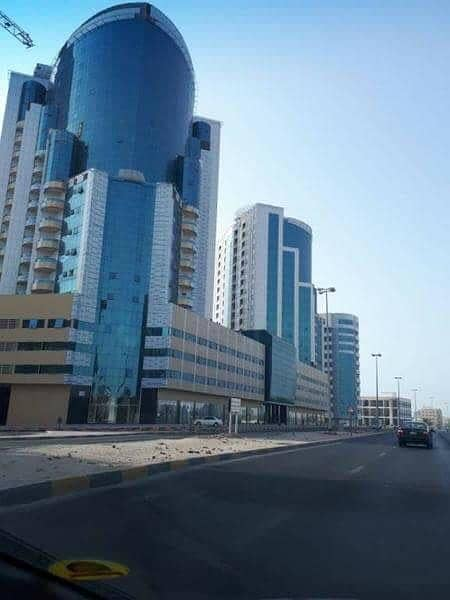 Brand New Apartment Full Sea / Road View 1 Bedroom for Rent in Ajman, Orient Tower with Parking.