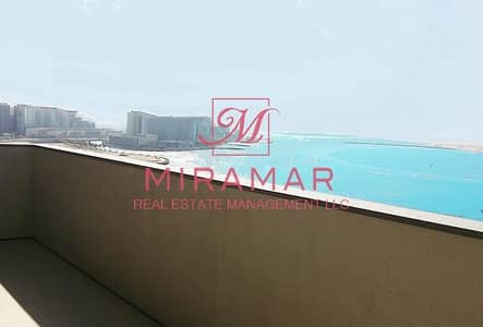 4 Bedroom Flat for Rent in Al Raha Beach, Abu Dhabi - NO COMMISSION FULL SEA VIEW HIGH FLOOR!
