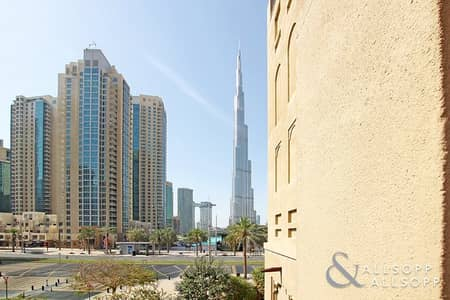 2 Bedroom Flat for Rent in Old Town, Dubai - 2 Bed   Partial Khalifa View   1244 Sq Ft