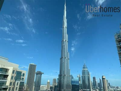 3 Bedroom Apartment for Rent in Downtown Dubai, Dubai - 3 BedRoom with Full Burj & Fountain View