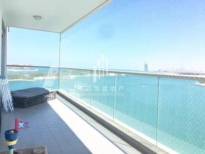 شقة 2 غرفة نوم للايجار في نخلة جميرا، دبي - Burj Al Arab and Full Sea View | Balcony