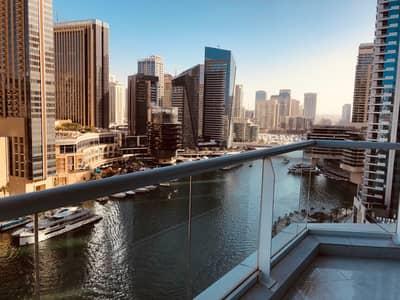 شقة 2 غرفة نوم للايجار في دبي مارينا، دبي - شقة في برج كونتيننتال دبي مارينا 2 غرف 115000 درهم - 4028046